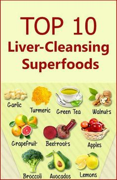 Cleansing superfoods