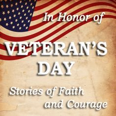 Eight days of inspiration and book give-aways, beginning on Veteran's Day!