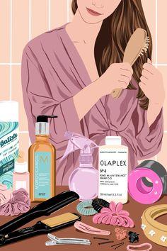 Illustration for Vogue Spain Instagram Design, Pop Art, Beauty Illustration, Poster S, Arte Pop, Cartoon Wallpaper, Beauty Box, Aesthetic Art, Belle Photo