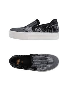 Logo Two-tone pattern Round toeline Fabric inner Rubber cleated sole Flat Ash Sneakers, Shoes Sneakers, Textiles, Stan Smith, Platform Sneakers, Ash Shoes, Nike, Color Negra, Cleats
