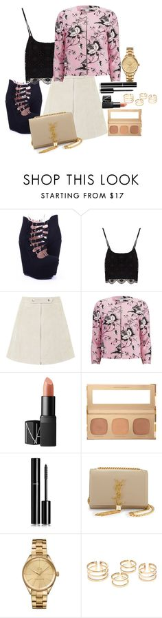 """""""#1"""" by sarethoran on Polyvore featuring Topshop, Diane Von Furstenberg, NARS Cosmetics, Bare Escentuals, Chanel, Yves Saint Laurent and Lacoste"""