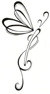 Resultado de imagen para dragonfly silhouette