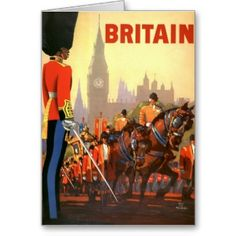 Fly To Britain By Clipper - Pan American World Airways (PAA) - British Royal Procession - Vintage Airline Travel Poster by Mark Von Arenburg - Master Art Print - x Pacifica Island Art Retro Airline, Vintage Airline, Airline Travel, Travel Ads, Travel Trip, Air Travel, Travel Stuff, Australian Vintage, Art Vintage