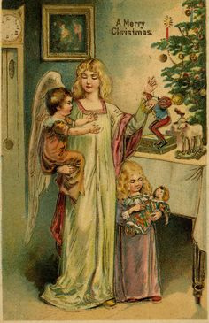 *ANGEL ~ with toys for children by The Texas Collection, Baylor University, via Flickr