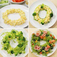 Food Plating Techniques, Christmas Tea Party, Xmas Food, Food Platters, Healthy Salad Recipes, Sashimi, Winter Food, Palak Paneer, Japanese Food