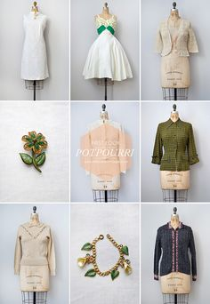 Vintage Clothing Shop Update, Adored Vintage Store | Potpourri Part 2 | www.adoredvintage.com
