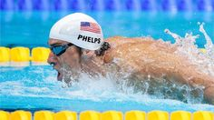 Michal Phelps, USA competes in 400m Individual Medley