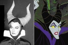 Eleanor Audley - Maleficent | Here Are The Real Life People Your Favorite Disney Characters Are Modeled After