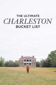 The Ultimate Charleston Bucket List (101 Things to Do in Charleston SC) // localadventurer.com Charleston Sc Things To Do, Moving To Charleston Sc, Visit Charleston Sc, Charleston Attractions, Charleston Food, Charleston Style, Vacation Trips, Weekend Trips, Vacation Spots