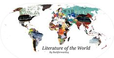 One Redditor has made a literary map of the world - one book represents one country. A tremendous amount of work!
