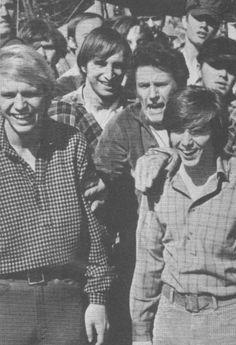 David Soul, Bobby Sherman, Robert Brown - Tiger Beat - October, 1969
