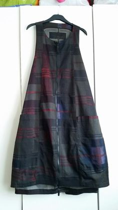 Rundholz Black Label Pinafore Dress Tartan Zip Adjustable Oversize Bnwt #Rundholz #PinaforeDungareeDress