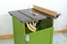 Fabricación de sierra de mesa casera