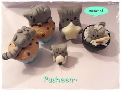 Pusheen Kittehs by The69thEye on deviantART
