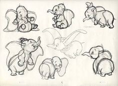 Graphite dreams: february 2010 dumbo tattoo ideas в 2019 г. Drawing Cartoon Characters, Character Drawing, Cartoon Drawings, Animal Drawings, Drawing Sketches, Character Design, Dumbo Drawing, Drawing Animals, Drawing Faces