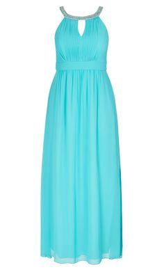 Women\'s Plus Size Multi Ombre Maxi Dress   City Chic USA   Fantasy ...