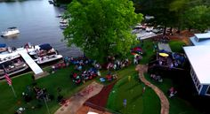 Everyone has been having a blast at our Boathouse on Lake Oconee! Excellent boating, free concerts, delicious food, fun lawn games, fantastic fishing and so much more. Come visit us! #LakeOconee #HarborClubLife