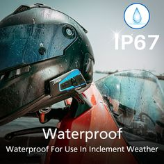 This Intercom Looks Cool. Bluetooth Motorcycle Helmet, Motorcycle Helmets, Communication System, Noise Cancelling, Looks Cool, Listening To Music, Headset, Cool Stuff, Atv