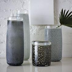 West Elm Patterned Vases