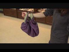 How to make a cute tote bag with a Furoshiki