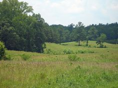 The Civil War battle of Resaca was fought here on this field.