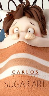 Carlos Lischetti: There is a monster under my bed! / ¡Hay un monstruo debajo de mi cama!
