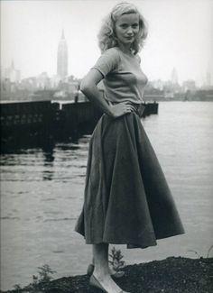 vintage everyday: Vintage Snapshots Prove That 40's Women Fashion Is Always… #womensfashionvintage40s