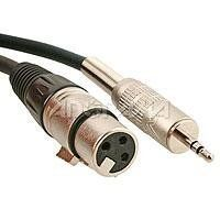 Comprehensive Standard Series XLR Jack to Stereo 3.5mm Mini Plug Audio Cable 3ft by Comprehensive. $9.59. Comprehensive Standard Series XLR Cables combine audio performance and value to meet any budget. These cables have been field tested around the world for years and they always get the job done. Constructed of 24 awg, 2 conductor shielded audio cable and Neutrik style connectors, Standard Series XLR cables are the perfect choice for all audio needs. Xtra flex jacket. RoHS Com...