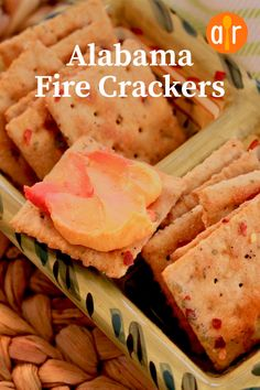 Saltine crackers soak in spices overnight, including plenty of hot red chili flakes, until they are mighty hot. Alabama Fire Crackers Recipe, Cant Stop Eating, Tailgating Recipes, Football Food, Game Day Food, Salad Bar, Daily Meals, Finger Foods, Snacks