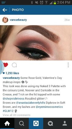 Naked 3 Urban Decay 3, Brows, Lashes, Valentines Day Makeup, Deep Brown, Abh, Makeup Inspo, Anastasia Beverly Hills, Green Colors