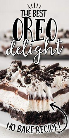Chocolate Layer Dessert, Chocolate Pudding Desserts, Oreo Dessert Recipes, Chocolate Recipes, Oreo Pudding Dessert, Yum Yum Dessert Recipe, Oreo Cookie Desserts, No Bake Desert Recipes, No Bake Oreo Dessert