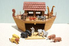 Hey, I found this really awesome Etsy listing at https://www.etsy.com/listing/128043431/noahs-ark-with-animals-animals-noah-ark