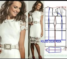 dress mold with income Dress Making Patterns, Easy Sewing Patterns, Coat Patterns, Clothing Patterns, Sewing Clothes, Diy Clothes, Clothes For Women, Sheila, Diy Dress
