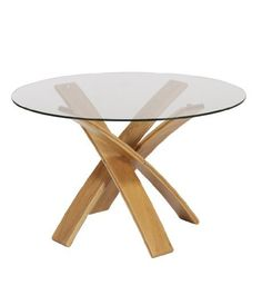 Shop our range of dining tables at M&S. Choose from a traditional oak extendable table to contempory glass dining table. Free delivery on all furniture. Family Room Furniture, Dining Room Furniture, Home Furniture, Furniture Design, Glass Round Dining Table, Glass Dining Table, Dining Area, Round Glass, Marble Furniture