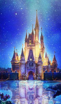 Disney Castle Drawing