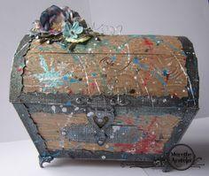 Merethes Kreative Boble: Treasure chest - Skattekiste