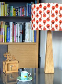 Cardinals Oak Handmade Table Lamp from hunkydory home