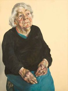 Maggi Hambling (b. Frances Rose Medium - oil on canvas Dimensions - 47 x 36 in. x cm. Painting People, Woman Painting, Figure Painting, Female Portrait, Portrait Art, Female Art, Painting Portraits, Maggi Hambling, Art Uk
