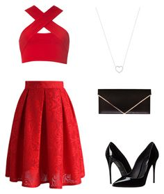 """Untitled #27"" by destiny-velasco on Polyvore featuring Motel, Chicwish, Dolce&Gabbana, Givenchy and Tiffany & Co."