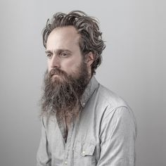 Sam Beam (known professionally as Iron & Wine), photographed by Josh Wool