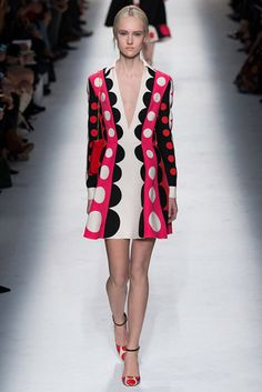 Valentino Fall '14 sixties comeback   http://www.style.com/trendsshopping/trendreport/041414_Fall_2014_Trend_Report/