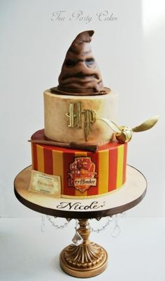 Harry Potter Cake - Cake by Tea Party Cakes - CakesDecor