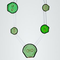 Unveiled: The 30th Rakow Commission by Swiss studio jeweler Bernhard Schobinger. Tantric Object, made in Richterswil, Switzerland, 2015. #bernhardschobinger #glass #RakowCommission #art #glassjewelry #glassapp