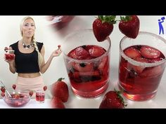 Jungle Juice Berry - Best Recipes Around The World Cocktail Drinks, Fun Drinks, Yummy Drinks, Alcoholic Drinks, Cocktails, Martinis, Refreshing Drinks, Party Drinks, Jungle Juice