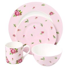 New Country Roses Dinnerware