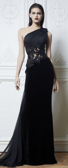 Zuhair Murad 2013 Black Gown