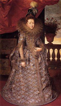 Margarita Gonzaga by Frans Pourbus the Younger (Galeria Palatina)