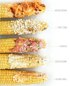 We're all ears. Grill corn up 5 different ways for a labor-less Labor Day treat.