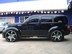 Dodge Nitro Black Color