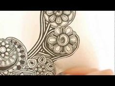 A speed zentangle - fun to see her process and how it comes together....  -